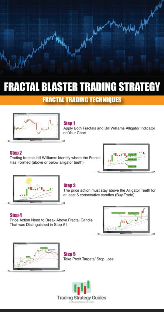 fractal trading techniques infographic