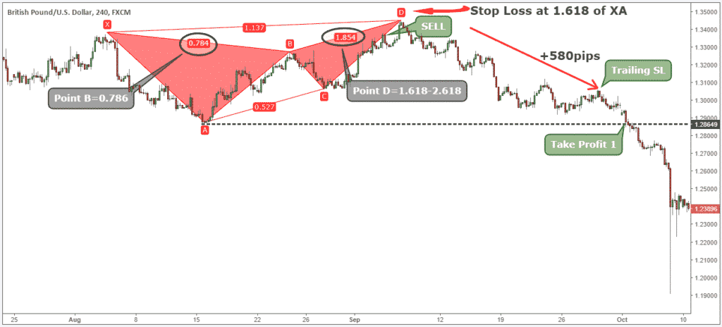 forex harmonic detection indicator