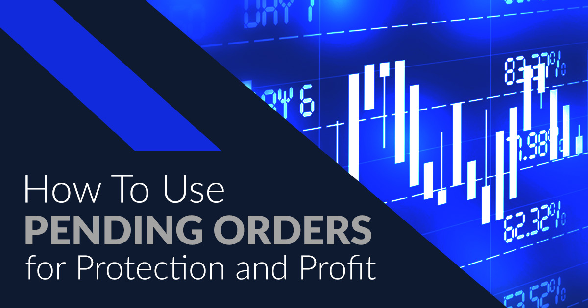 how to use pending orders