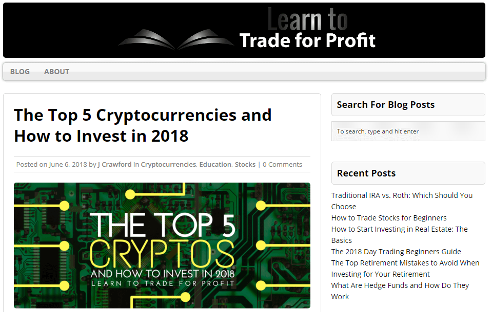 Top 10 cryptocurrency blogs