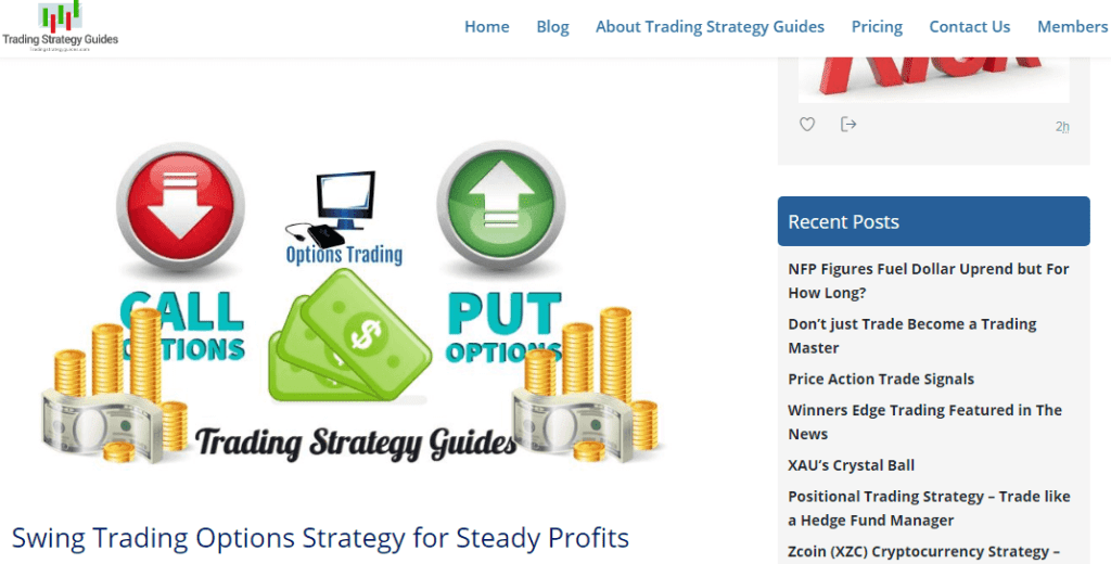 Best options trading blog
