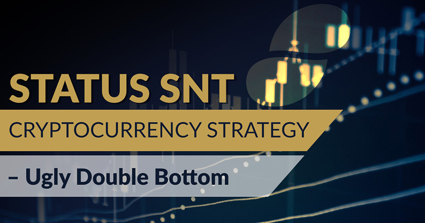 Status SNT Cryptocurrency Strategy – Ugly Double Bottom