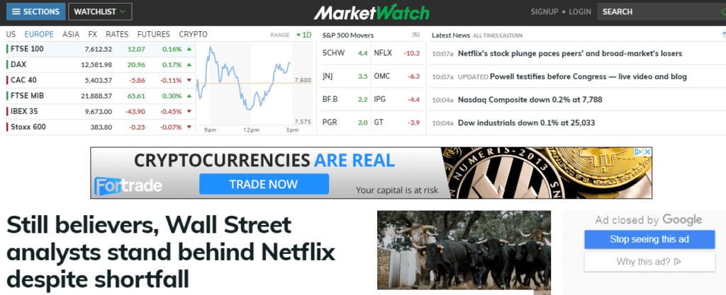 best stock blogs