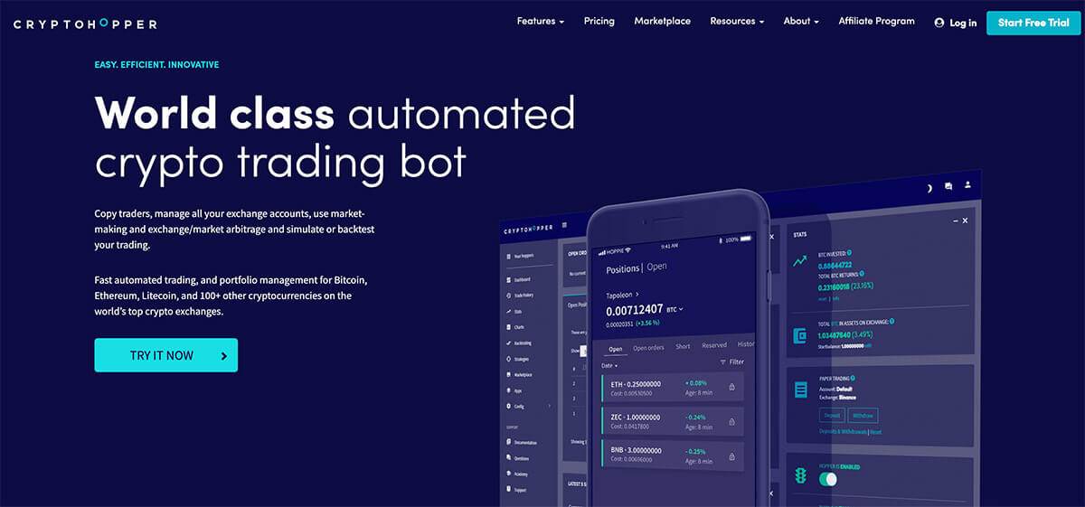 best automated cryptocurrency trading platform
