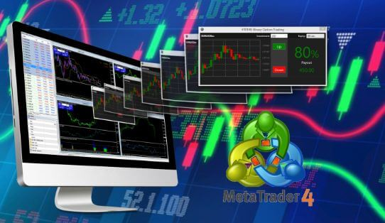 MT4 simulated forex trading