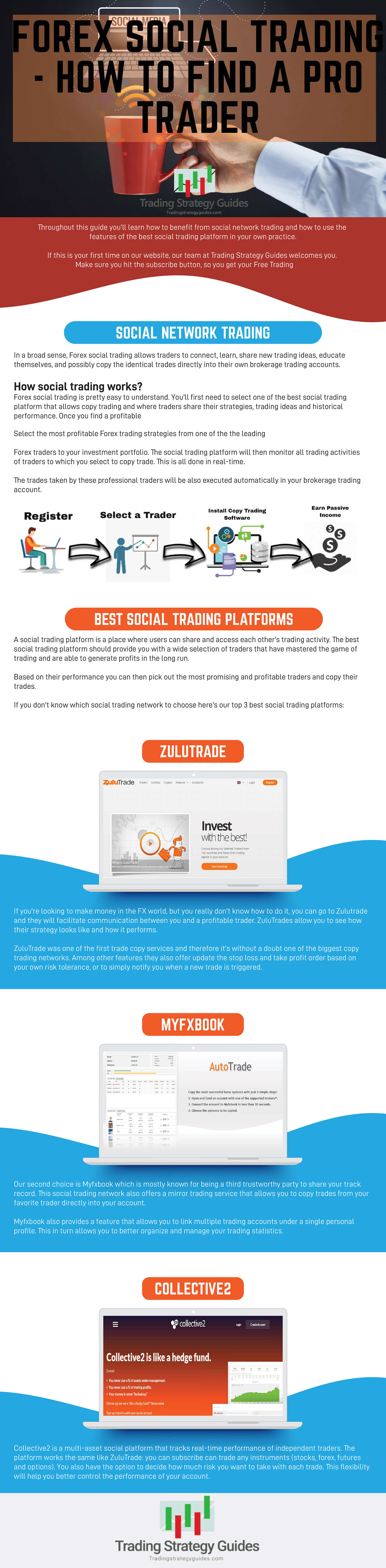 best social trading platform infographic