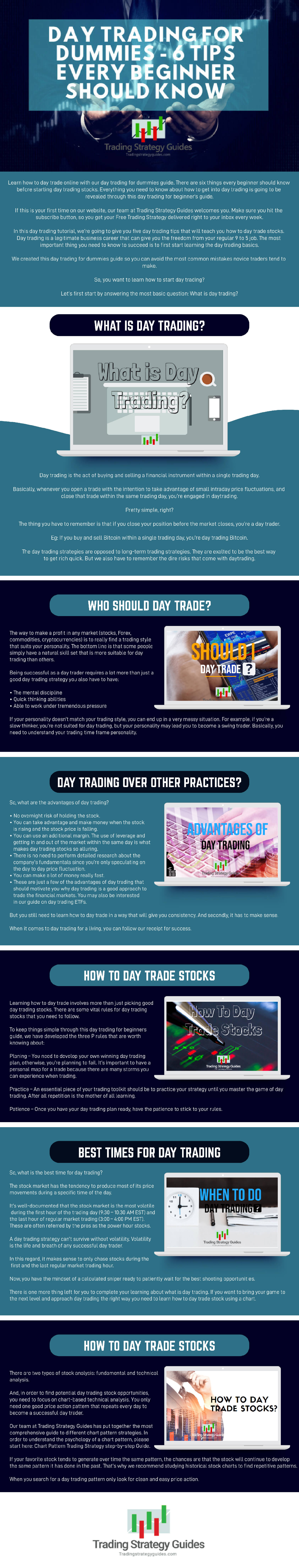 Day Trading for Dummies (6 Tips Every Beginner Should Know)