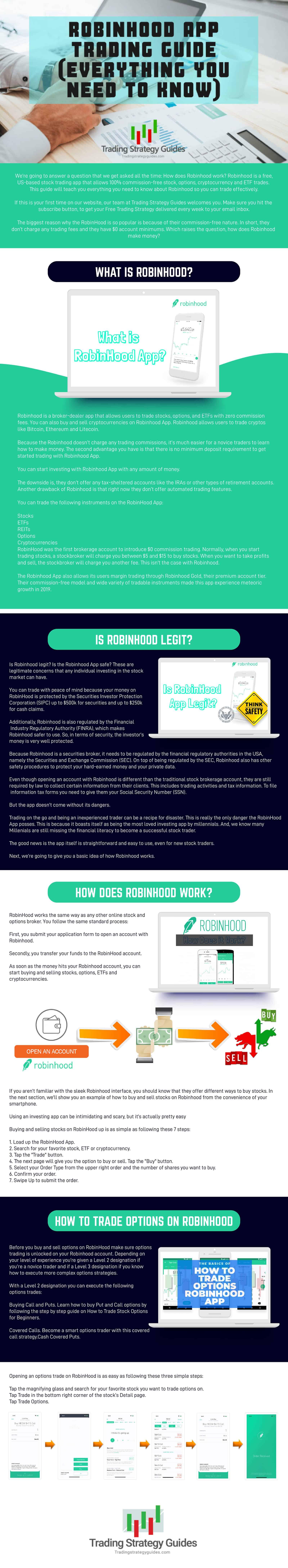 what is robinhood app