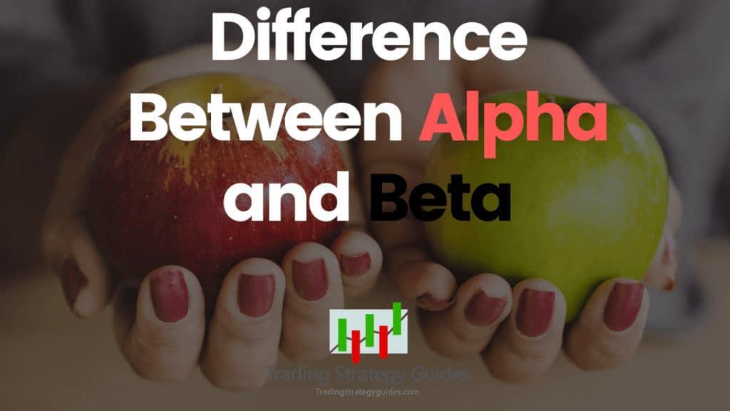 alpha vs beta trading