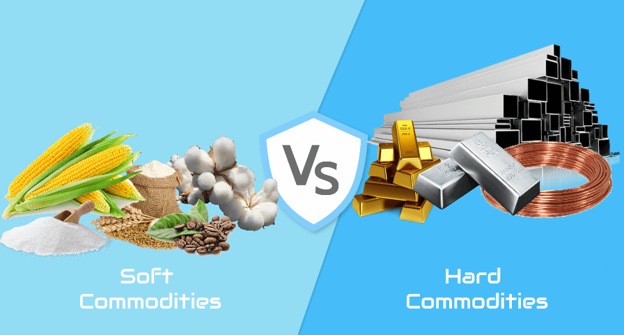 types of commodities
