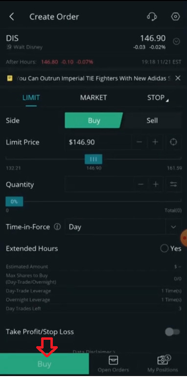 how to get webull free stock