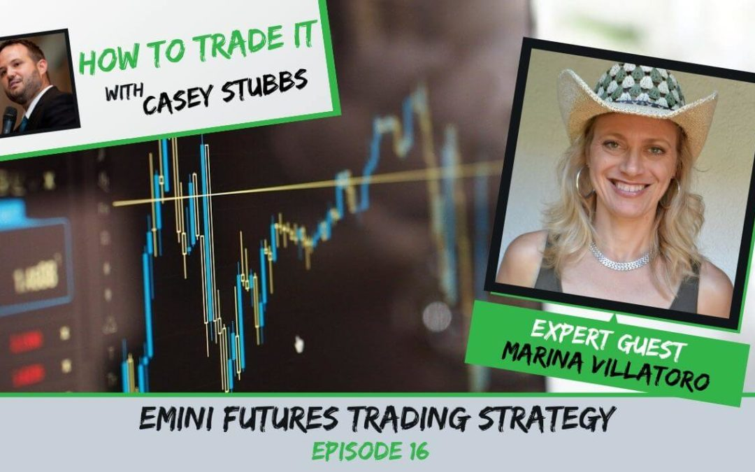 Marina Villatoro's Emini Futures Trading Strategy, Ep #16