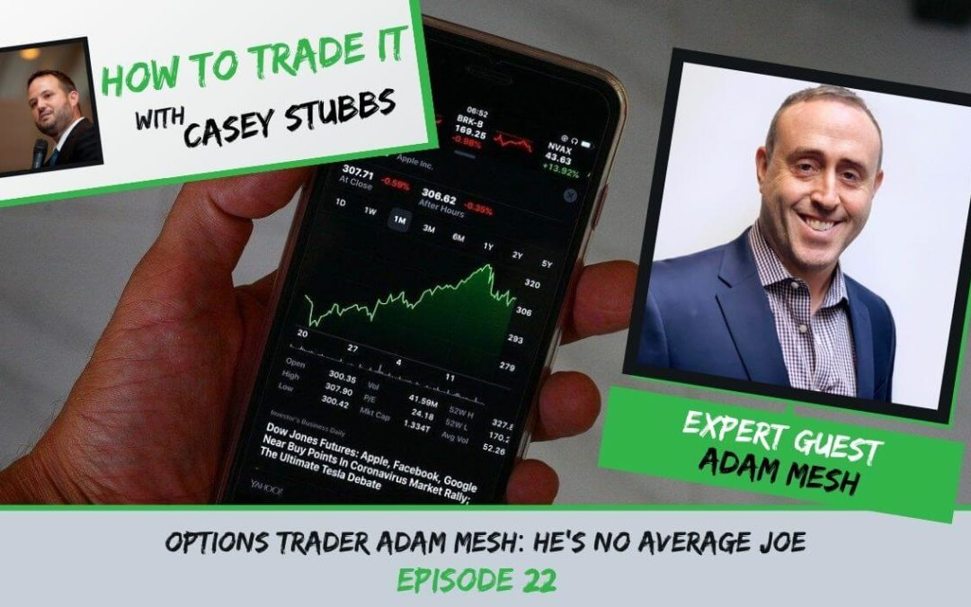 Options Trader Adam Mesh: He's no Average Joe, Ep #22